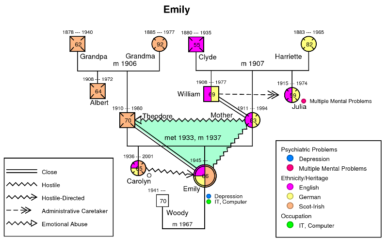 sample genogram